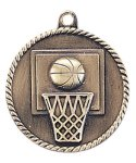 High Relief Medal -Basketball High Relief Medallion Awards