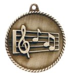 High Relief Medal -Music High Relief Medallion Awards