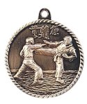 High Relief Martial Arts Karate Medal High Relief Medallion Awards