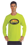 Long Sleeved T-Shirt with Full Chest Custom Imprinted Graphic Imprinted Apparel