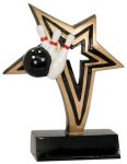 Bowling Infinity Star Resin Infinity Star Resin Trophies