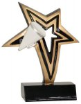 Cheer Infinity Star Resin Infinity Star Resin Trophies