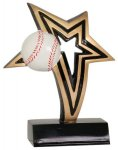 Baseball Infinity Star Resin Infinity Star Resin Trophy Awards