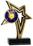 Insert Holder Infinity Star Resin Infinity Star Resin Trophy Awards
