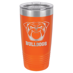 Polar Camel 20 Oz. Tumbler -Orange Insulated Ringneck Tumbler - 20oz
