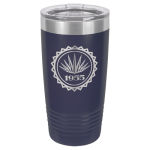 Polar Camel 20 Oz. Tumbler -Navy Blue Insulated Ringneck Tumbler - 20oz