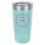 Polar Camel 20 Oz. Tumbler -Light Blue Insulated Ringneck Tumbler - 20oz