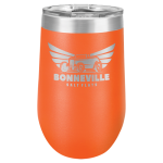 Polar Camel Stemless Tumbler -Orange Insulated Tumblers - 16oz