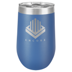 Polar Camel Stemless Tumbler -Blue Insulated Tumblers - 16oz