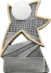 Jazz Star Resin -Volleyball Jazz Star Resin Trophies