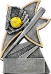 Jazz Star Resin -Softball Jazz Star Resin Trophies