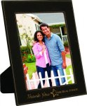 Black Leatherette Picture Frame Leatherette Gift Items