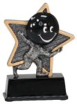 Little Pals Resin Trophy -Bowling Little Pals Resin Trophies