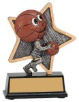 Little Pals Resin Trophy -Basketball Little Pals Resin Trophies