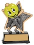 Little Pals Resin Trophy -Softball Little Pals Resin Trophies