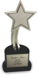 The Recognition Star Metal Trophies