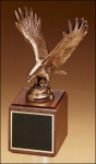 Fully Modeled Antique Bronze Eagle Casting Metal Trophies