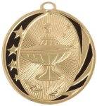Lamp of Knowledge MidNite Star Medal Midnite Star Medal Series