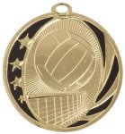 Volleyball MidNite Star Medal MidNite Star Medallion Awards