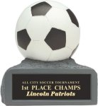 Soccer - Colored Resin Trophy Miscellaneous Resin Trophies