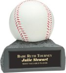 Baseball - Colored Resin Trophy Miscellaneous Resin Trophies