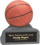 Basketball - Colored Resin Trophy Miscellaneous Resin Trophies