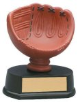 Softball Glove Resin Trophy Miscellaneous Resin Trophies