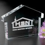 House Paperweight Paper Weight Crystal Awards