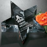 Slanted Star Paperweight Paperweight Awards