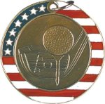 Golf - Stars & Stripes Medallion Patriotic Awards