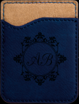 Leatherette Phone Wallet -Blue Phone & Tablet Cases