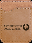 Leatherette Phone Wallet -Light Brown Phone & Tablet Cases