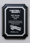 Black High Gloss Plaque Piano Finish Plaques