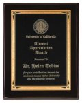 Black Piano Finish Recognition Plaque Piano Finish Plaques