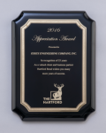 Black High Gloss Plaque Recognition Plaques