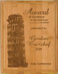Bamboo Recognition Plaque Recognition Plaques