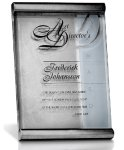 Silver Scrolls Recognition Plaques