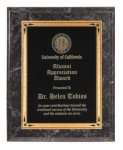 Black Marble Recognition Plaque Religious Awards