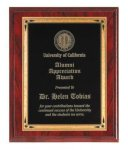 Red Wood Grain Recognition Plaque Religious Awards