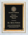White Marble Finish Recognition Plaque Religious Awards
