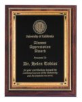 Cherry Finish Recognition Plaque Religious Awards