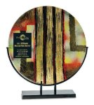 Round Art Glass Award Round Art Glass