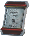 Slate and Glass Plaque Sales Awards