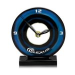 Blue Bullseye Clock Sales Awards