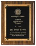 Walnut Piano Finish Recognition Plaque Sales Awards