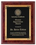 Ruby Marble Finish Recognition Plaque Sales Awards