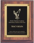 Cherry Finish Recognition Plaque Sales Awards