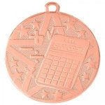 Superstar Medal -Math Scholastic Trophy Awards