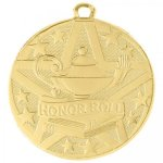 Superstar Medal -Honor Roll Scholastic Trophy Awards