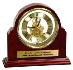 Grand Piano Step-Arch Clock Secretary Gift Awards